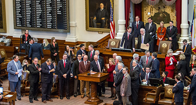 Orange and Maroon Legislative Day